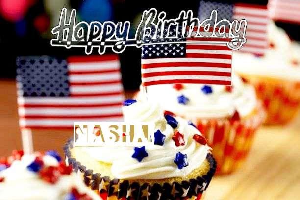 Happy Birthday Wishes for Nasha