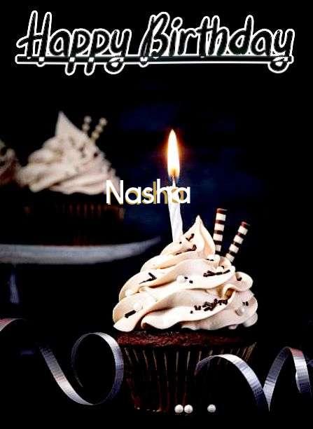 Happy Birthday Cake for Nasha