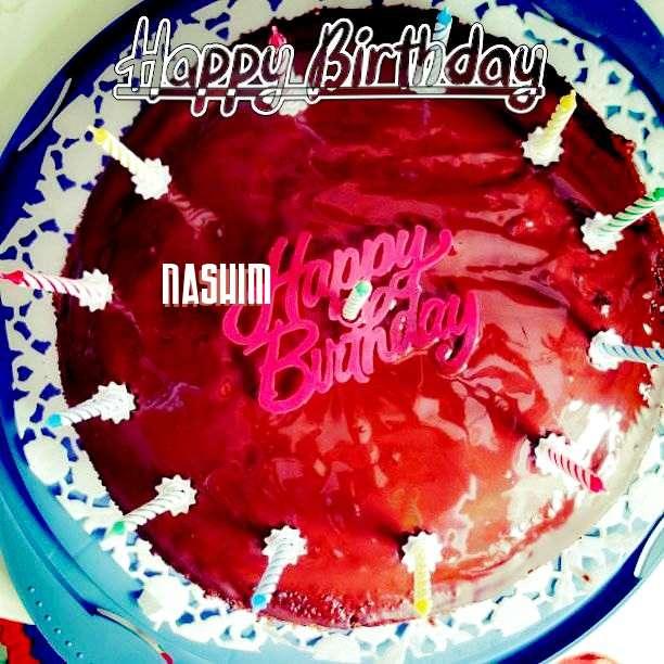Happy Birthday Wishes for Nashim