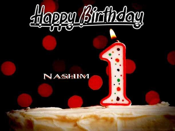 Happy Birthday to You Nashim
