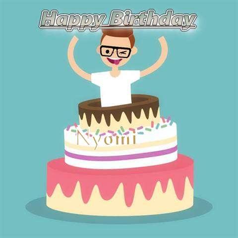 Happy Birthday Nyomi