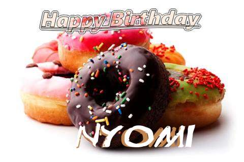 Birthday Wishes with Images of Nyomi