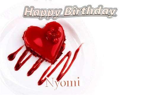 Happy Birthday Wishes for Nyomi