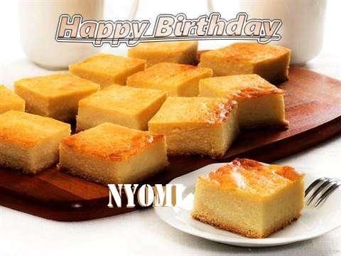 Happy Birthday to You Nyomi