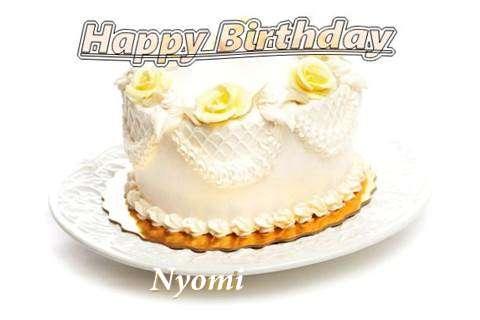 Happy Birthday Cake for Nyomi