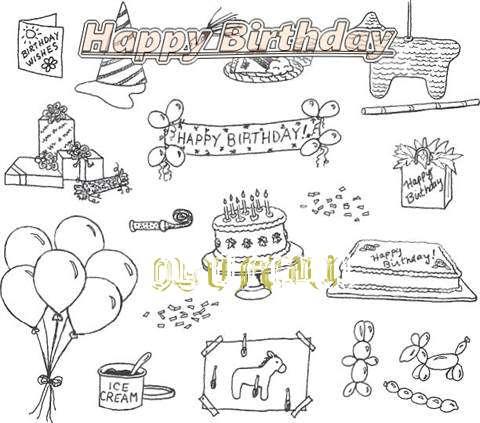 Happy Birthday Cake for Olufemi