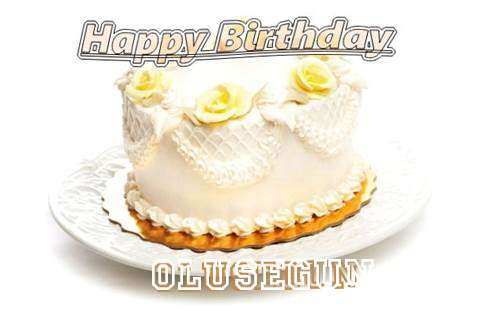 Happy Birthday Cake for Olusegun
