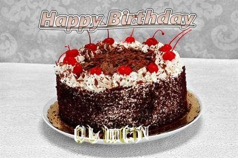 Happy Birthday Olwen