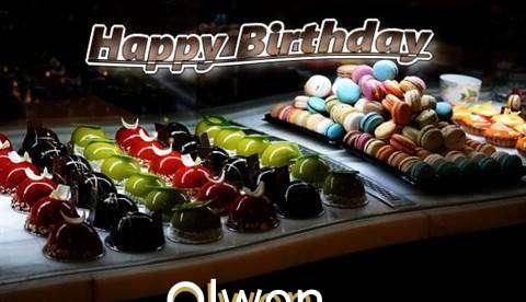 Happy Birthday Cake for Olwen