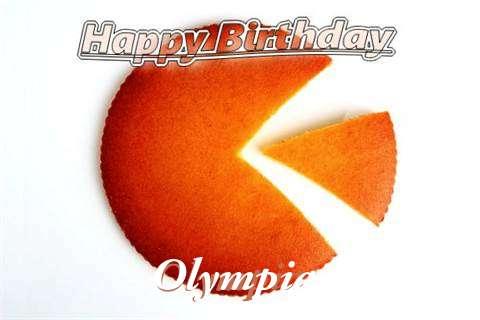 Olympia Birthday Celebration