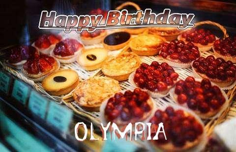 Happy Birthday Cake for Olympia