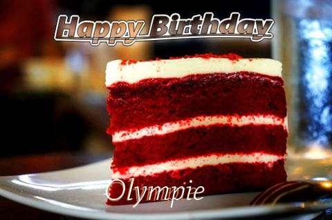 Happy Birthday Olympie