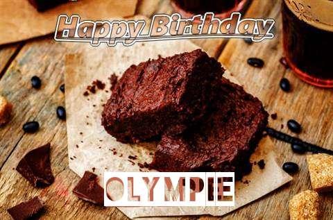 Happy Birthday Olympie Cake Image