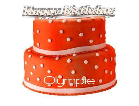 Happy Birthday Cake for Olympie