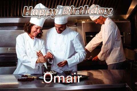 Happy Birthday Cake for Omair