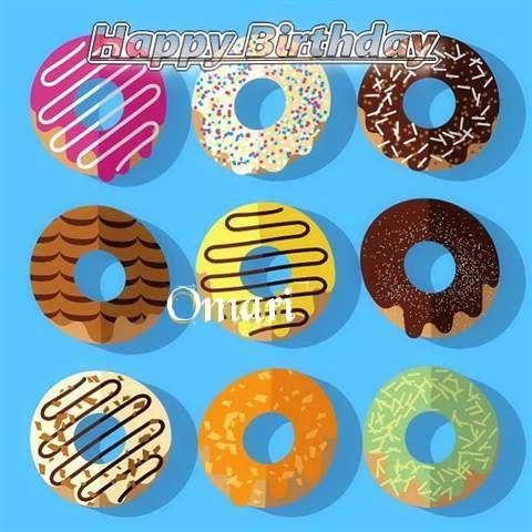 Happy Birthday Omari Cake Image