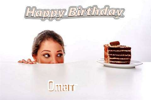 Birthday Wishes with Images of Omarr