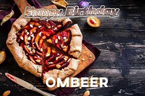 Happy Birthday Ombeer Cake Image