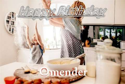 Birthday Wishes with Images of Omender