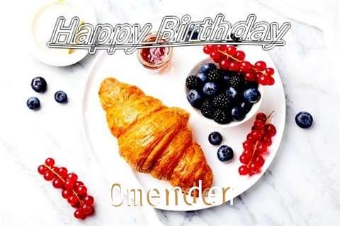 Birthday Images for Omender