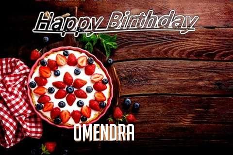 Happy Birthday Omendra Cake Image