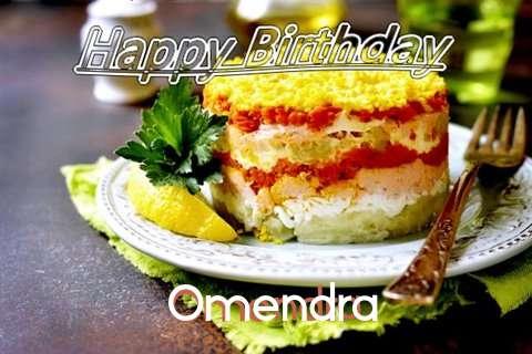 Happy Birthday to You Omendra