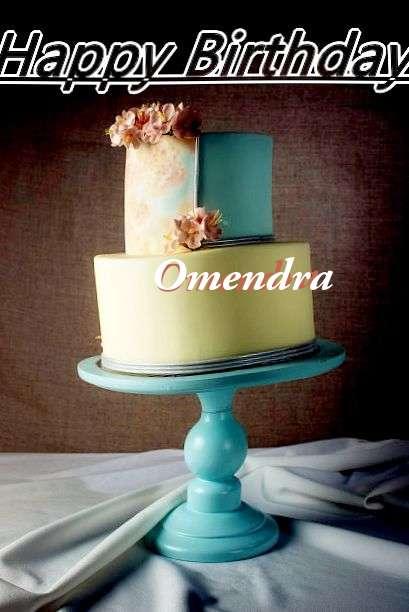 Happy Birthday Cake for Omendra