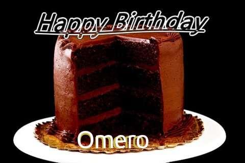 Happy Birthday Omero Cake Image