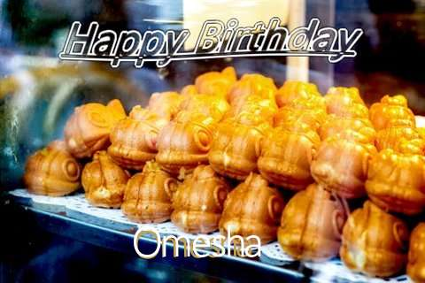 Birthday Wishes with Images of Omesha