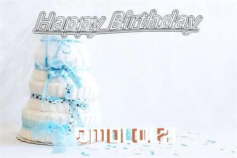 Happy Birthday Omolola Cake Image