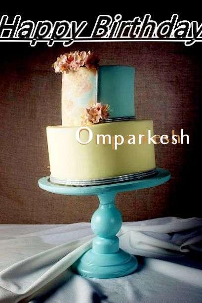 Happy Birthday Cake for Omparkesh