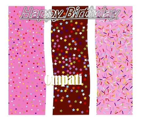 Happy Birthday Wishes for Ompati