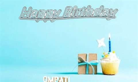 Happy Birthday Cake for Ompati