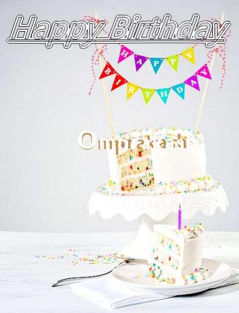 Happy Birthday Omprakash Cake Image