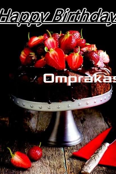 Happy Birthday to You Omprakash
