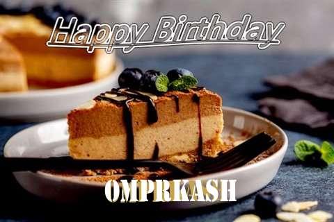 Happy Birthday Omprkash Cake Image