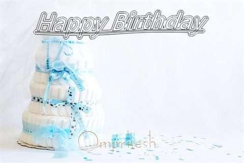 Happy Birthday Omprkesh Cake Image