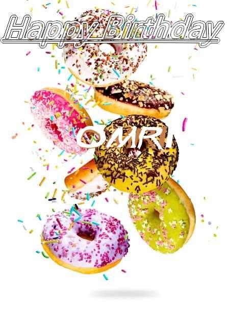 Happy Birthday Omri Cake Image