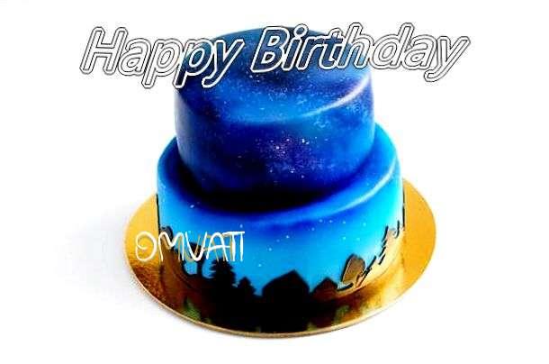Happy Birthday Cake for Omvati