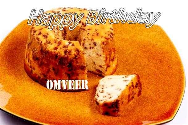 Happy Birthday Cake for Omveer