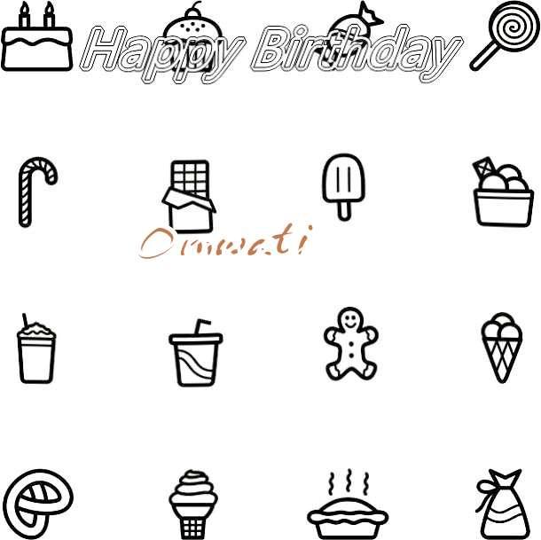 Happy Birthday Cake for Omwati