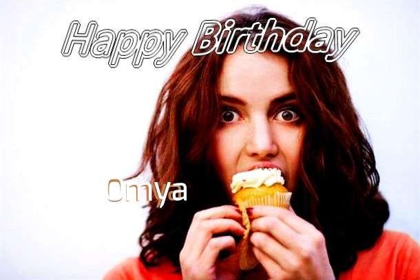 Birthday Wishes with Images of Omya