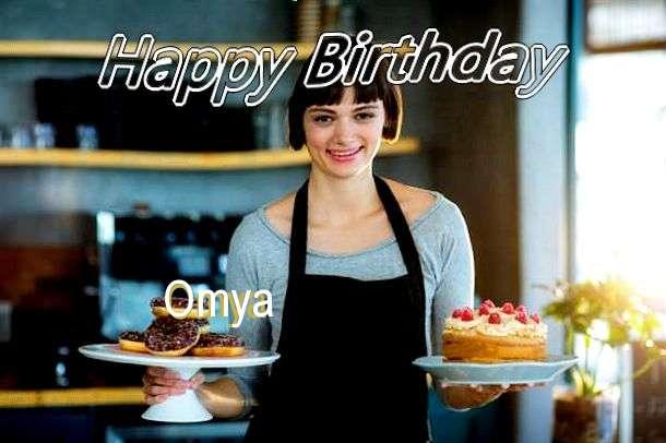 Happy Birthday Wishes for Omya