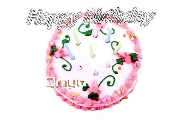 Happy Birthday Cake for Omya