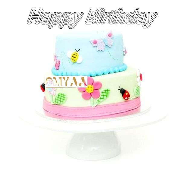 Birthday Images for Omyaa