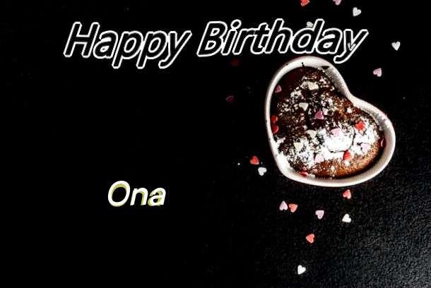 Happy Birthday Ona