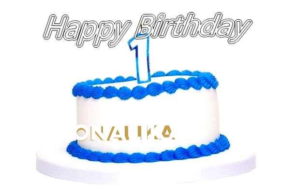 Happy Birthday Cake for Onalika