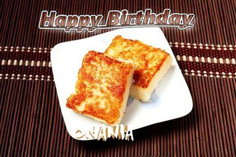 Birthday Images for Onania