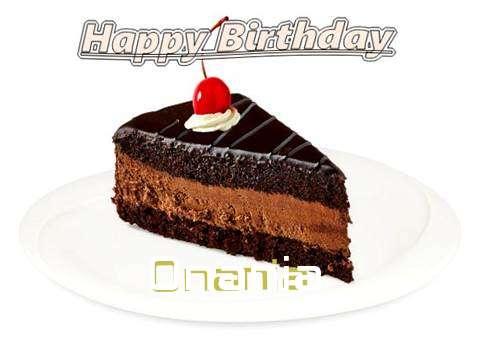 Onania Birthday Celebration