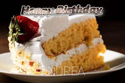 Happy Birthday Ondrea